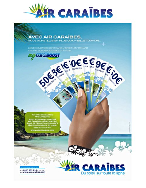 promotions air caraibes