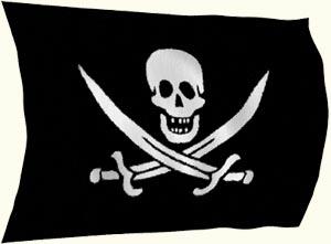 Voile gateau pirate a imprimer