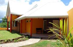 Villa Madras : Camping Guadeloupe