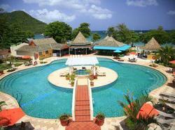Bay Gardens Beach Resort : Hotel  Sainte-Lucie